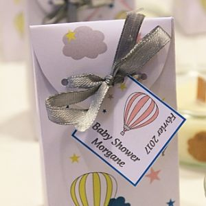 baby shower cadeau invite DIY