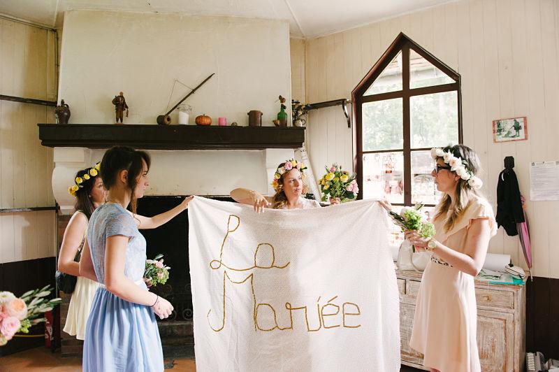 cérémonie laïque la mariée