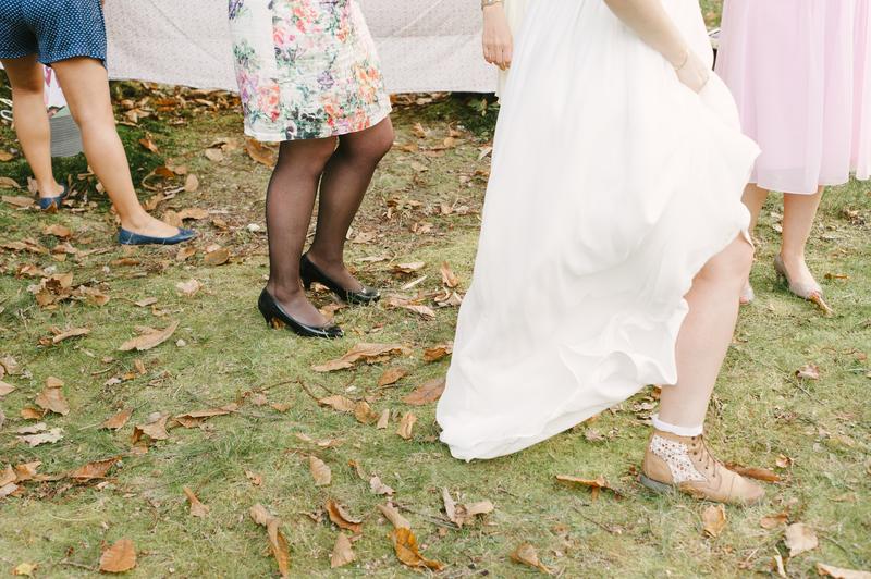 chaussure mariée originale champêtre