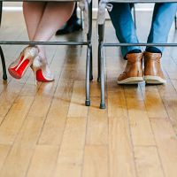 mariage mairie détails chaussures