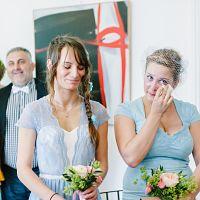 mariage mairie invités pastel soeurs