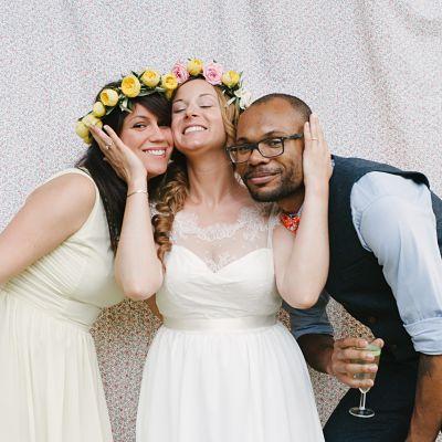 photobooth mariée et ses amies