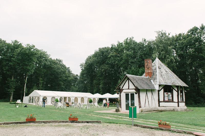 salle de mariage champêtre