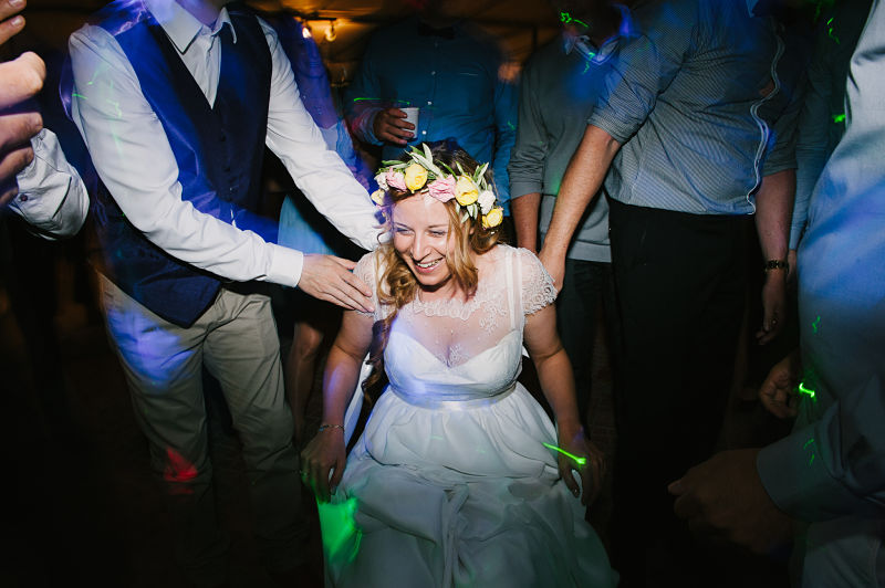 soirée mariage animation chaise