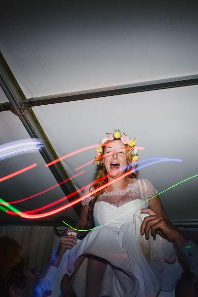 soirée mariage porté mariée