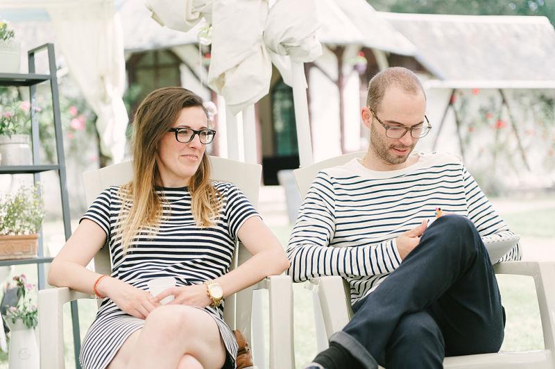 brunch mariage marinière invités