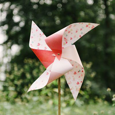 décoration mariage moulin à vent DIY