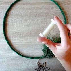 bobine fil transparent élastique