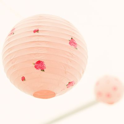 lampion personnalisés pastel DIY mariage