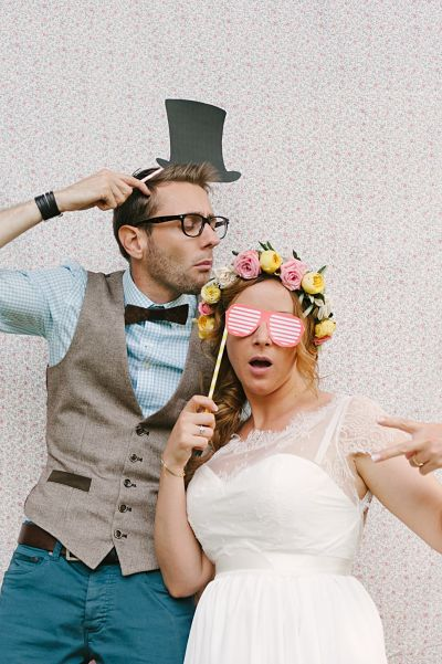 photobooth mariage DIY